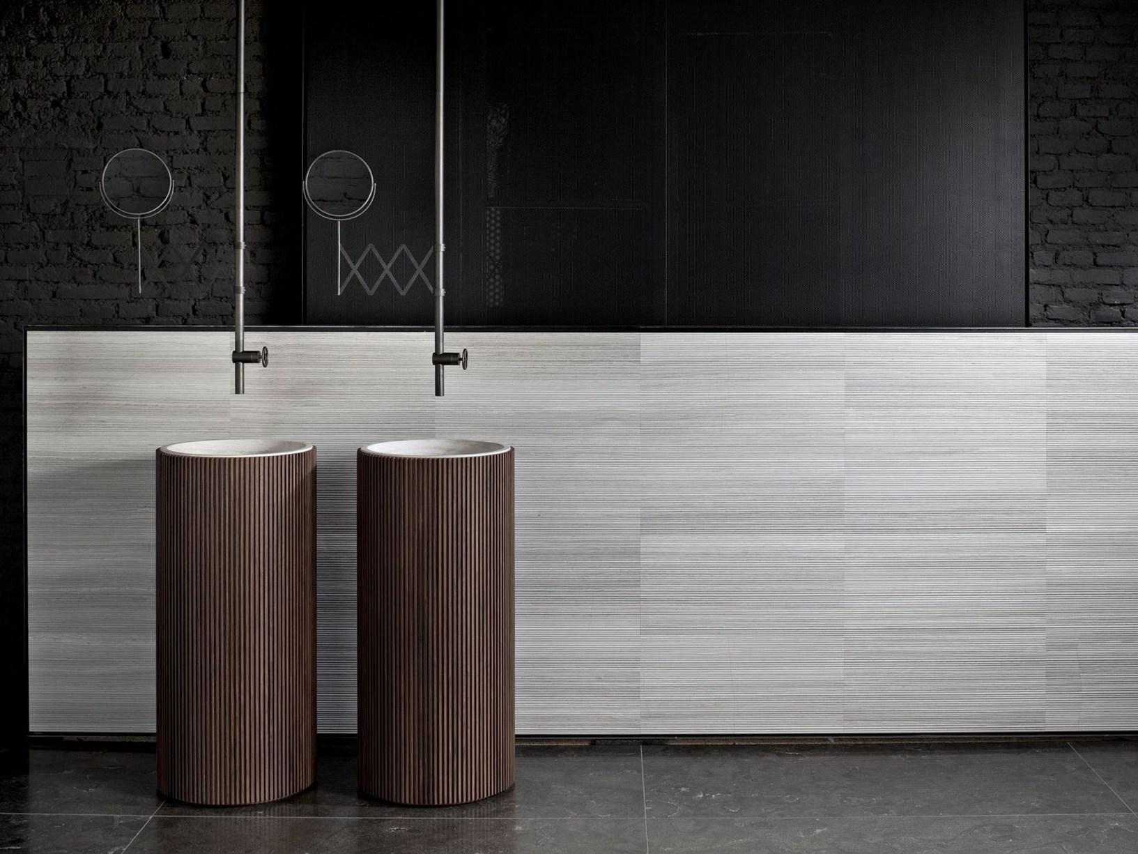 Salvatori коллекция Adda для ванной комнаты в стиле 50-х и 60-х годов 20 века