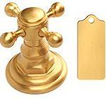 Jewelers Gold цвет отделки смесителей матовое ювелирное золото