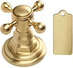 Satin Brass цвет отделки смесителей матовая латунь