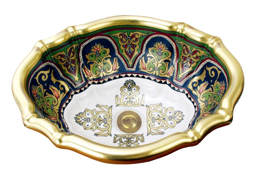 ближневосточный дизайн раковины для ванной