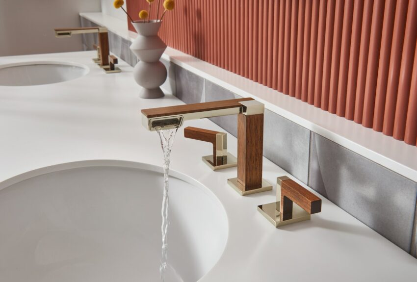 Frank Lloyd Wright коллекция смесителей Brizo