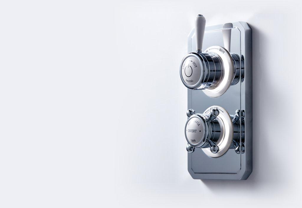 Crosswater Belgravia Digital цифровой термостат в классическом дизайне