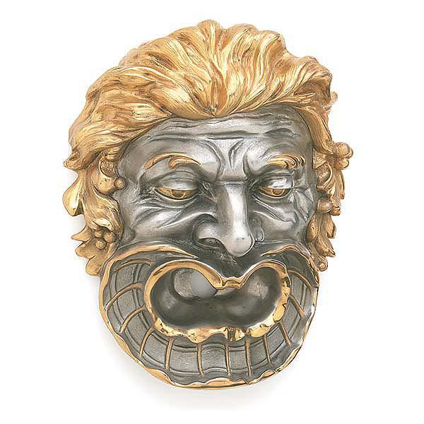 P.E. Guerin излив для ванны в форме головы греческий или римский барельеф