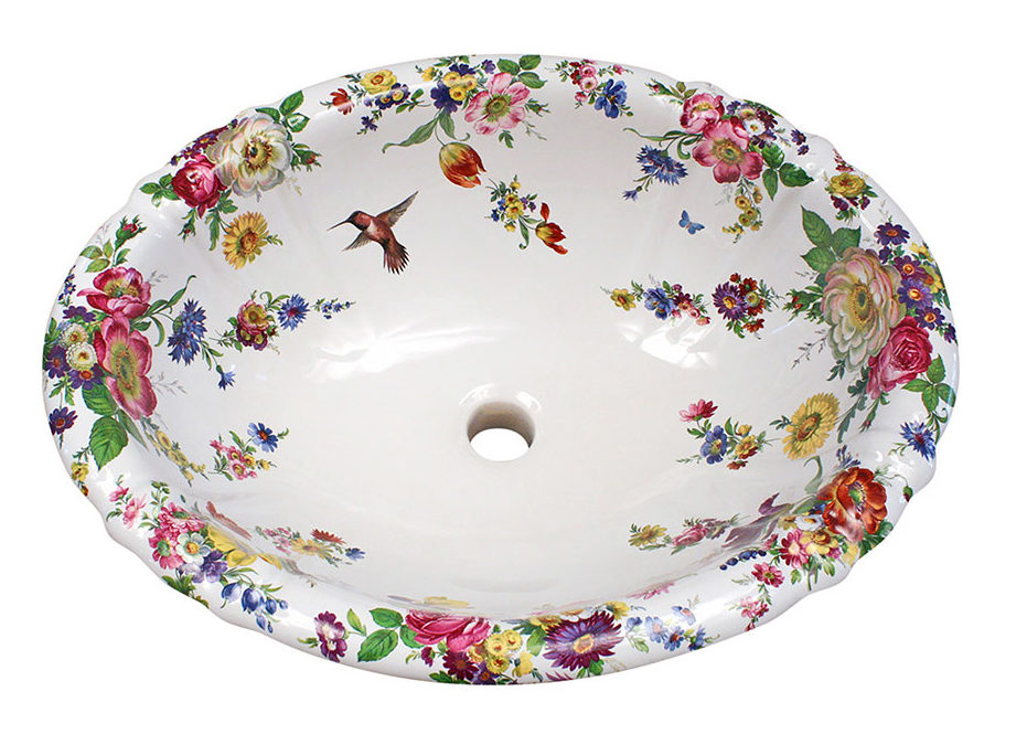 Decorated Bathroom аксессуары из керамики расписанные вручную