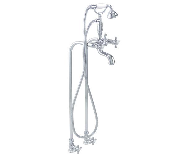 Balboa California Faucets Смесители для ванной напольный в классическом стиле с запорными вентилями