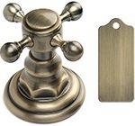 Antique Brass цвет отделки смесителей античная бронза