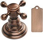 Antique Copper цвет отделки смесителей античная медь