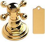 Bombay Gold цвет отделки смесителей полированное индийское золото