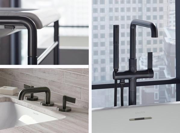 KALLISTA американская сантехника серии One современный люксовый минимализм