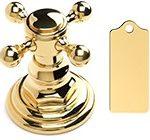 Polished Brass цвет отделки смесителей полированная латунь