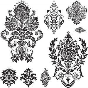 damask ornament ближневосточный орнамент