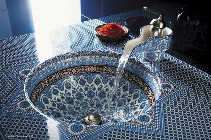 Ближневосточный дизайн в сантехнике