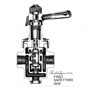 Symmons safetymix перый вентиль для душа с балансировкой давления