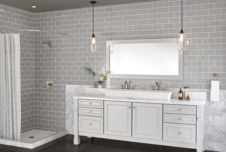 Тенденции в американском дизайне ванных комнат